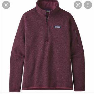NWOT Patagonia Better Sweater 1/4 Zip Size XXS